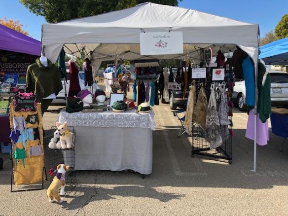 Encino Farmers' Market booth